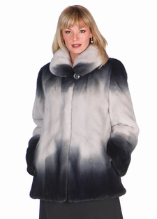 Silverblue Mink Jacket - 29